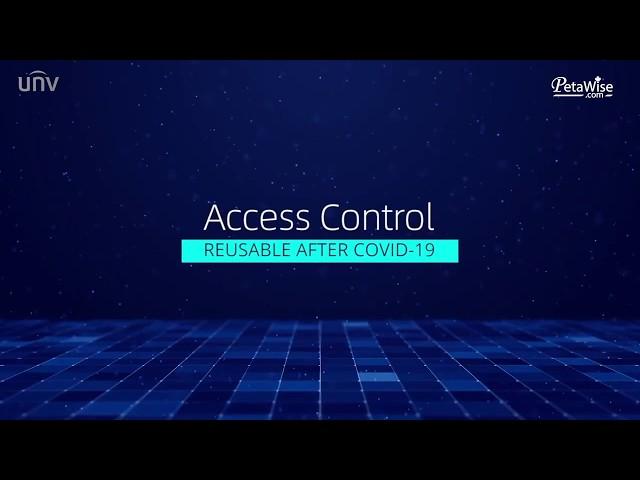 UNV Access Control and Wrist Temperature Screening Terminal