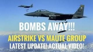 Marawi Airstrike Against Maute. DAY 6 OF MARAWI CRISIS