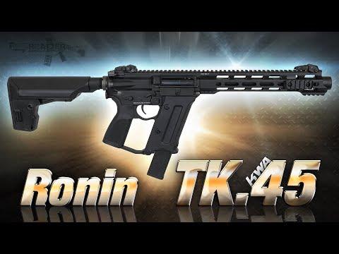 [Review] KWA Ronin TK.45 (The Black Swan) TK45C 6mm S-AEG Airsoft/Softair (German,DE)