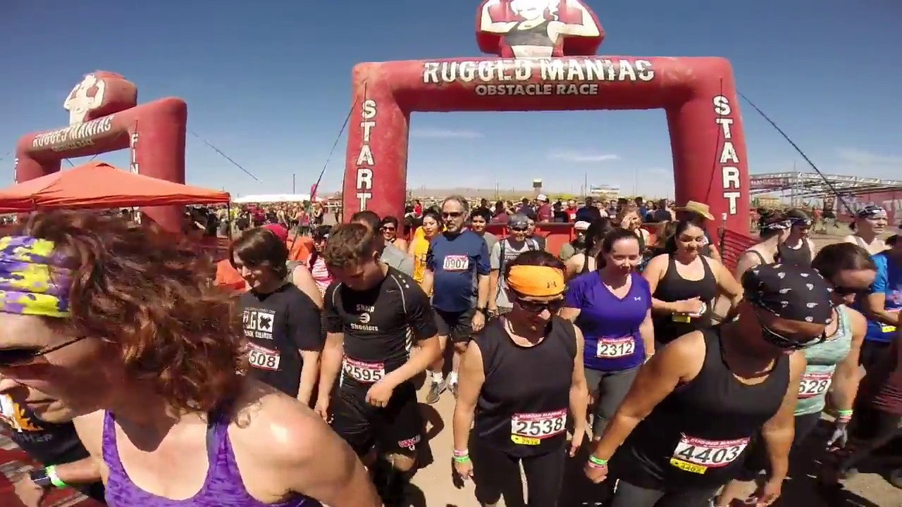 Rugged Maniac Spring 2018 Phoenix Arizona Part 1