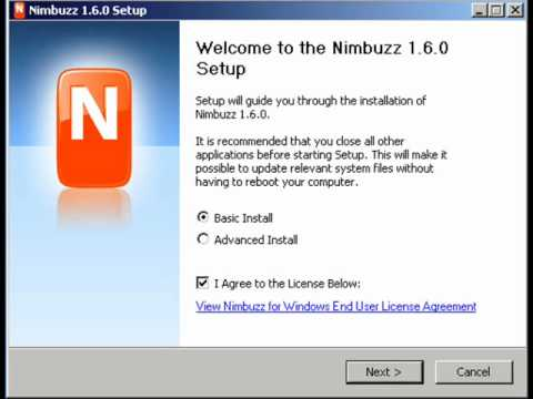 How To Install Nimbuzz And Add A SIP Account - ABC-VoIP Communication Partner