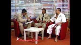 Interview Antena1 -  October 2013 / O-Sensei Alexey Kunin and Shihan Ionel Bara