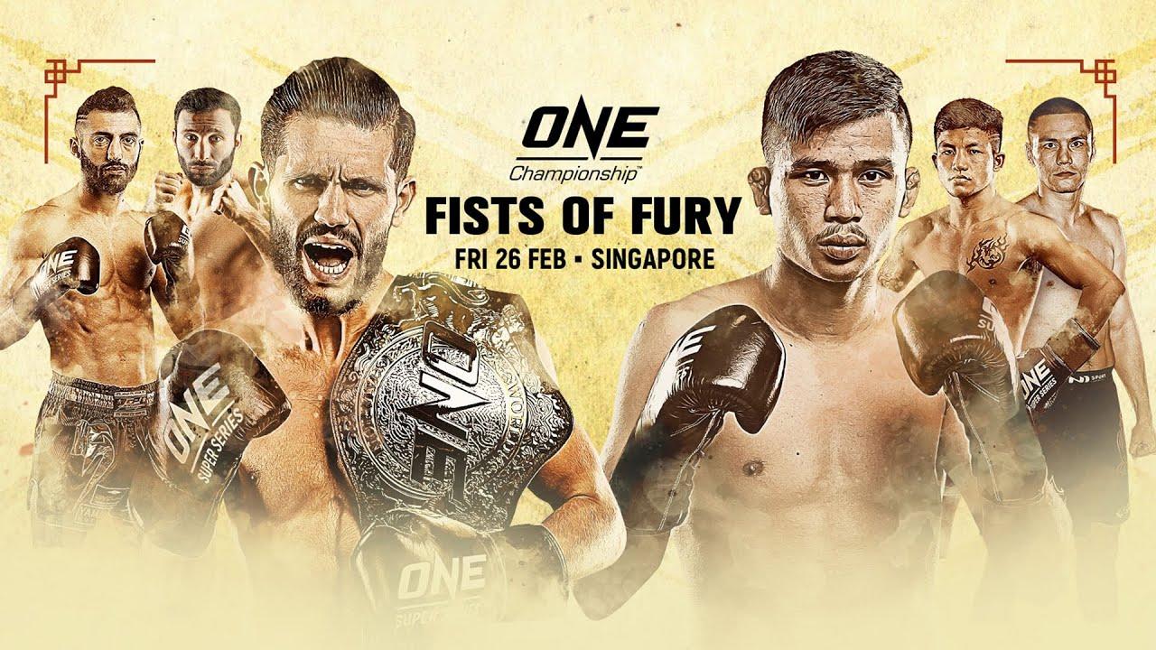 Watch One Championship Fists Of Fury III