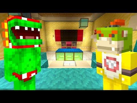 BOWSER JRS BOSS VISITS THE FUN HOUSE! *200K SUBCRIBERS!*  Nintendo Fun House  Minecraft 361