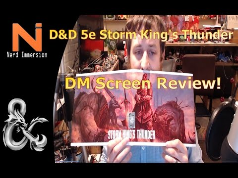 photo relating to Storm King's Thunder Printable Maps named DD 5e Storm Kings Thunder DM Display screen Evaluation Nerd Immersion