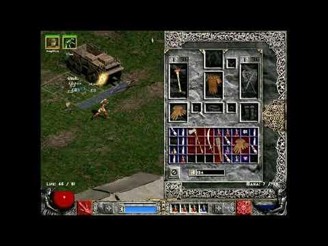Diablo 2 Hardcore Hell Run 2 ( Druid: Summon / Rabies ), Part 1