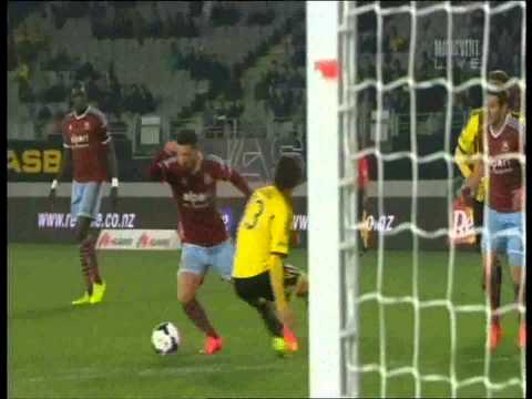 Mauro Zarate Goal Wellington Phoenix Vs West Ham United