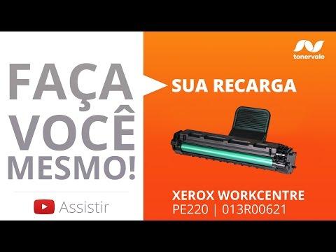 video recarga toner xerox pe220  013r00621 doovi Xerox Laser Printer Photo Scanner xerox m20i service manual