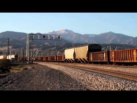 Just a quick HD clip of a train passing through Palm Springs