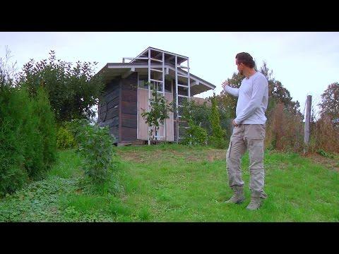 Постройка с дровником, летним душем и экологическим туалетом // FORUMHOUSE