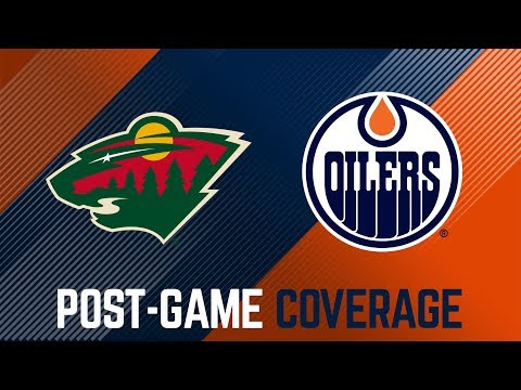 ARCHIVE | Post-Game Coverage - Oilers at Wild