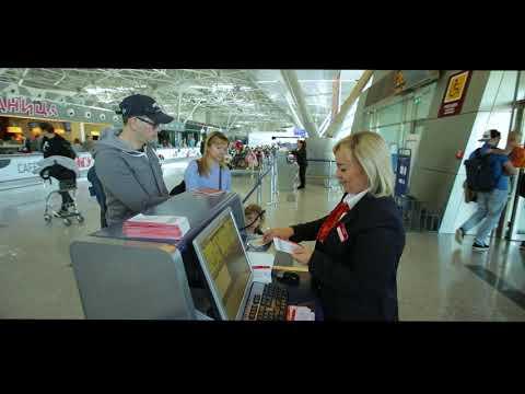 Аэропорт Внуково: русская версия промо-ролика, 2019 год