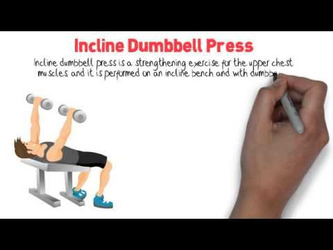 Correct Incline Dumbbell Press Form - Workout Training Videos ...
