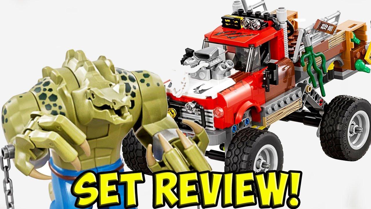 "LEGO BATMAN MOVIE ""Killer Croc Tail-Gator"" Set Review ..."