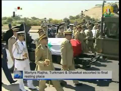 Syria News 21 July 2012. Syria Martyrs to Final Resting Place, Clearing cities from terrorists.