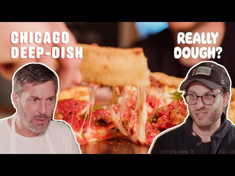 Chicago Deep Dish: Pizza or Casserole?    Really Dough?