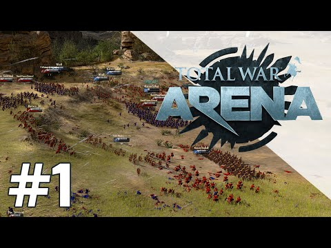 Total War: Arena - Leonidas - #1 - My First look with Jackie Fish