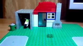 Как построить Lego дом.(Часть 2)