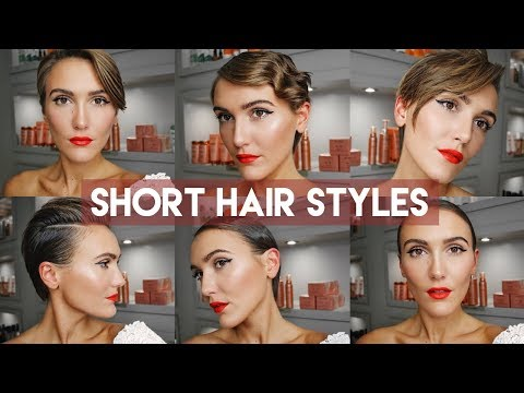 HOW TO STYLE PIXIE HAIR. SHORT HAIR STYLES | Blaise Dyer