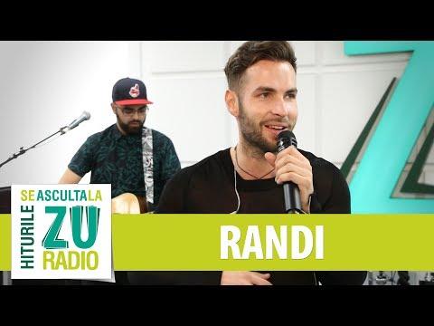 Randi - Fana mea (Live la Radio ZU)