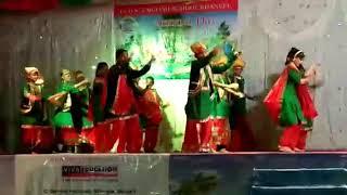 Bhangara dance jjds english medium school khanvel