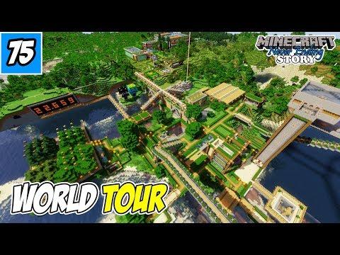World Tour Dan Bagi-Bagi Map, Lagi !!! - Minecraft Survival Indonesia #75