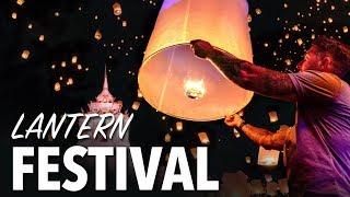 LANTERN FESTIVAL IN CHIANG MAI THAILAND - Yi Peng Lantern Festival