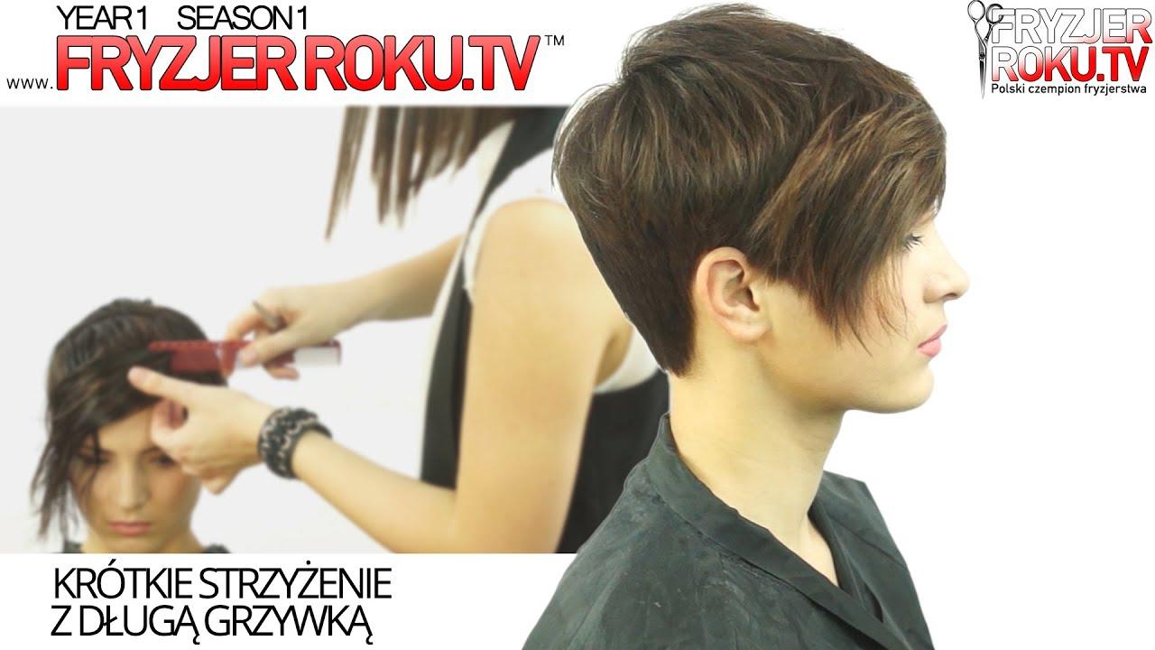 Krótkie Strzyżenie Z Grzywką Długie How To Short Haircut
