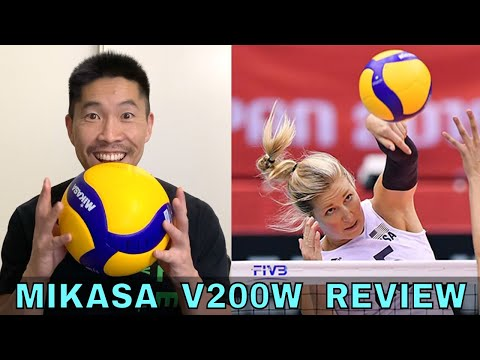 Mikasa V200W Volleyball Review