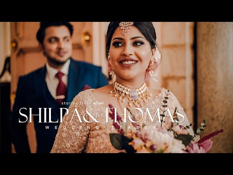 A Total Vivider Wedding Teaser Of Shilpa & Thomas | Weva Photography