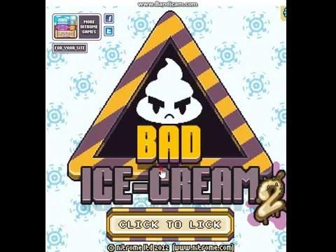 Флэш игра Игра плохое мороженое на двоих