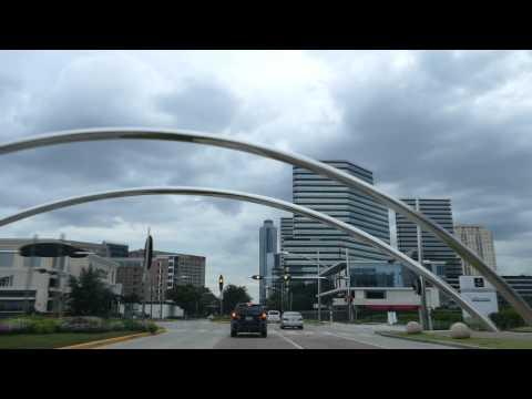 Houston Trip 02 - Day 1 Four Seasons Waterwall Menil FZ1000 4K