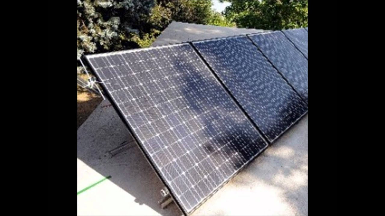 Shadows On Solar Pv Panels Youtube