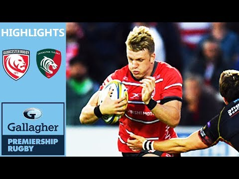 Ollie Thorley Scores Late Wonder Try | Gloucester v Leicester | Gallagher Premiership Highlights