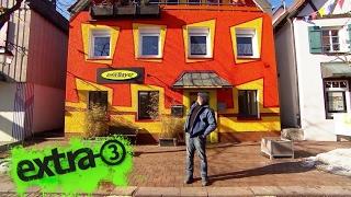 Realer Irrsinn: Das bunte Haus in Hayingen