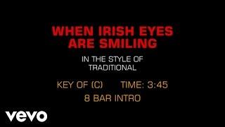 Traditional Irish Song - When Irish Eyes Are Smiling (Karaoke)