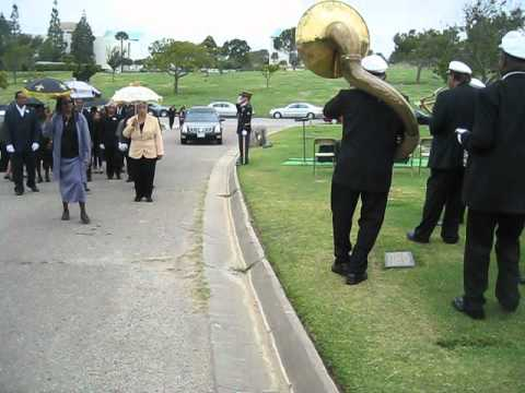 New Orleans Traditional Jazz Band - New Orleans style funeral procession