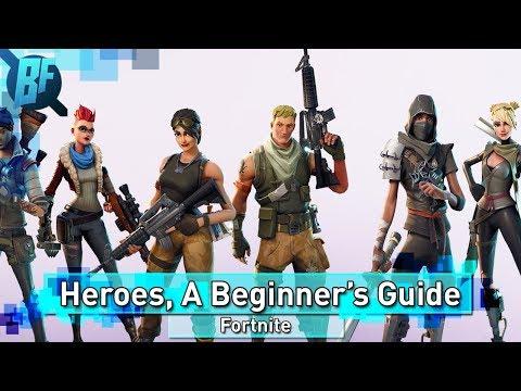 Fortnite: A Beginner's Guide To Hero Classes