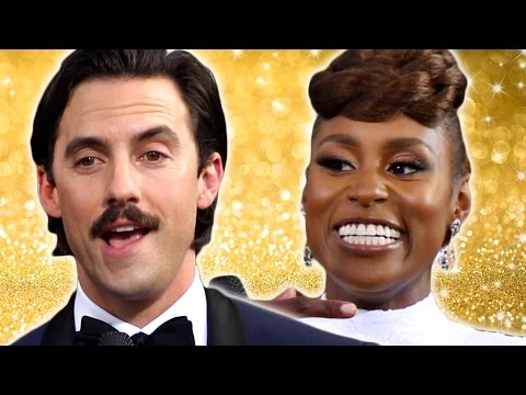 Celebs Take A Sobriety Test At The Golden Globes