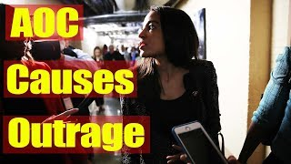 AOC Sparks Media Outrage Over Incendiary Comments