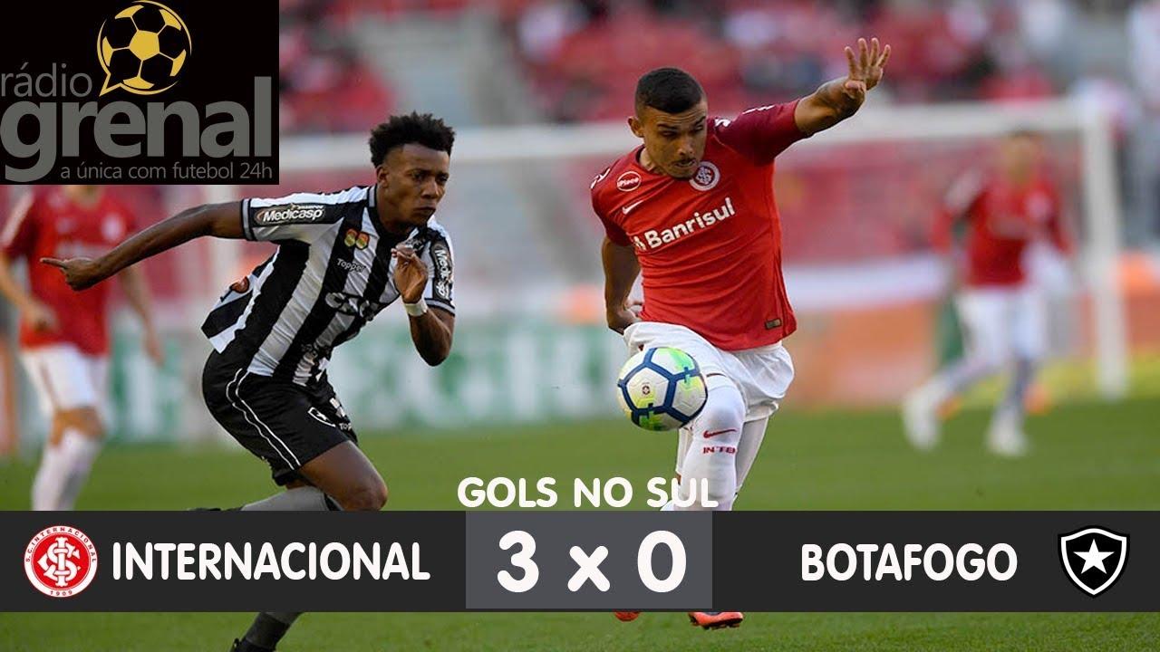 Internacional 3 x 0 Botafogo - Rádio Grenal - YouTube dbe0d1f041d8b
