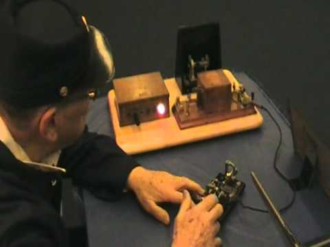 Grand Trunk Railroad Telegraph Operator Bob Hibbard