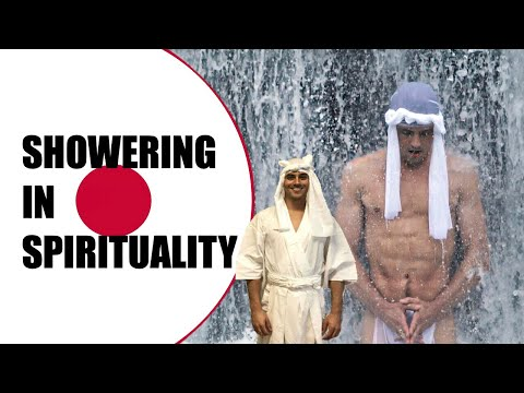 SHOWERING IN SPIRITUALITY I Tom Does Japan