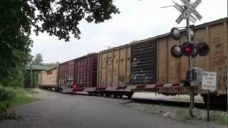 Norfolk Southern H07- Detour on NYS&W: September 4, 2011