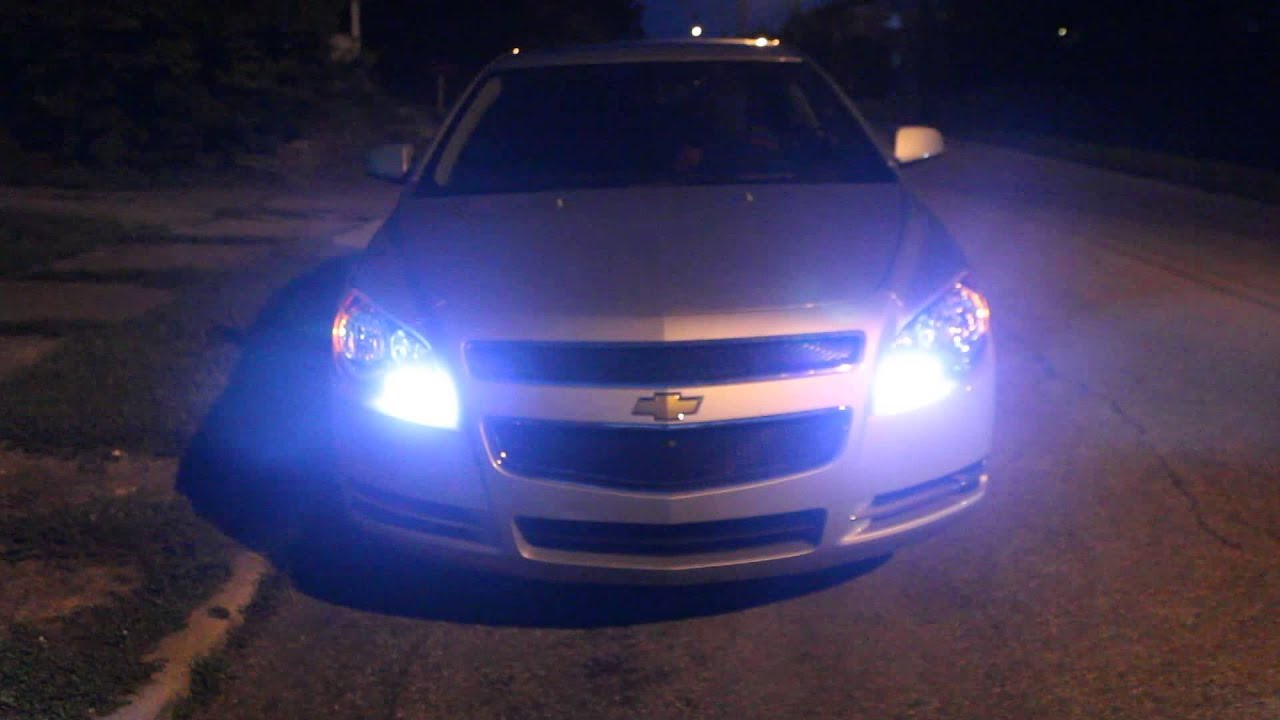 2012 Chevy Malibu Lt With Hid And Led Switchbacks Youtube