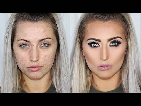 Acne Coverage Makeup Tutorial
