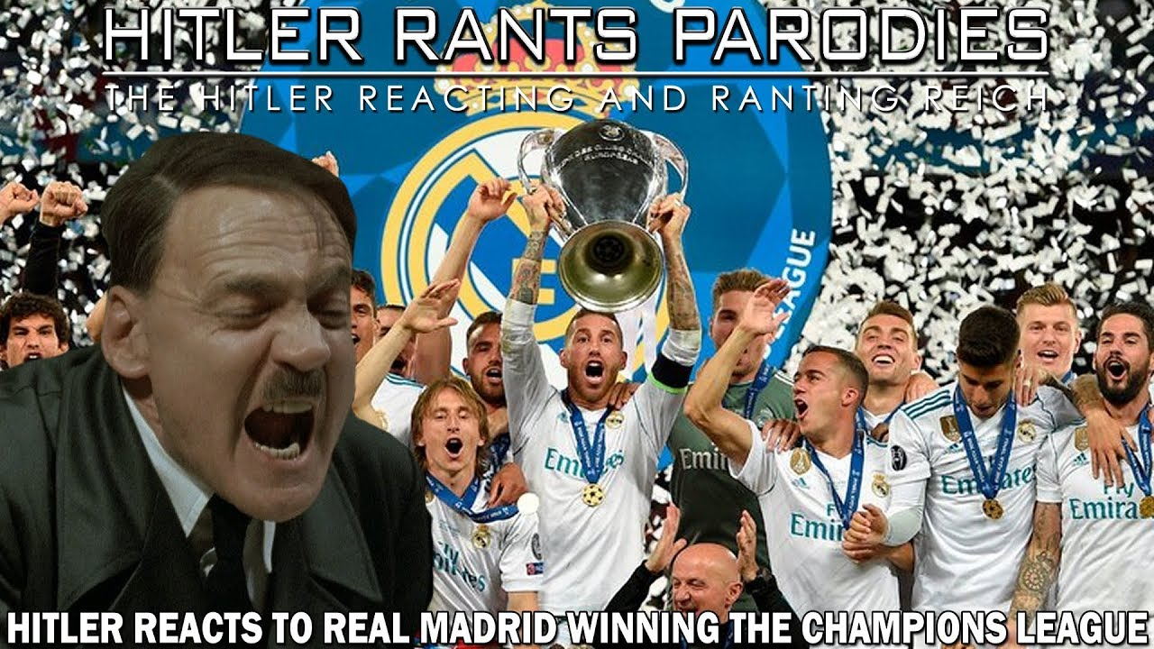 Hitler reacts to Real Madrid winning the Champions League