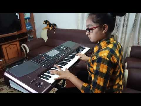 Dhadak title song piano cover up by Shiney Asma Saldanha