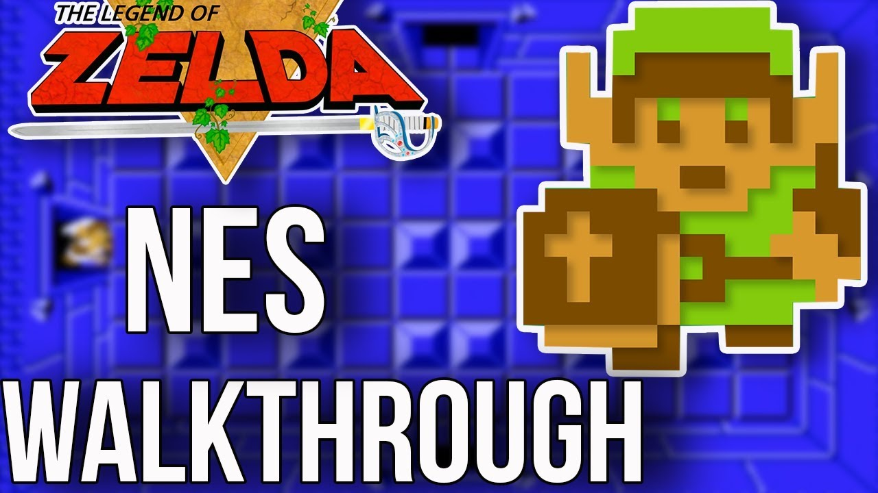 Zelda NES Walkthrough and Strategy Guide - YouTube on