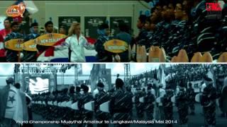 Opening Ceremonie WK Muaythai Amateur Maleisie 2014